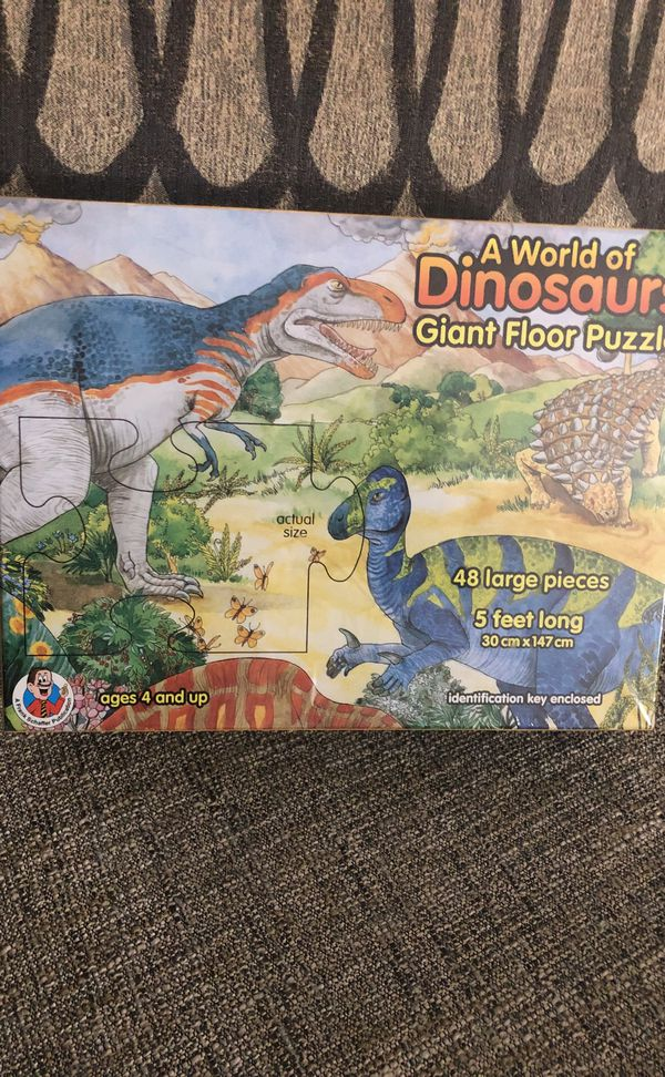 A world of Dinosaurs 🦕 🦖 Puzzle. Please see all the pictures and read the description