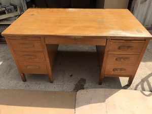 Real wood Computer writing desk to finish for Sale in Raleigh, NC