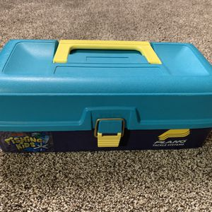 Kids Plano Fishing Tackle Box / Tool Box for Sale in Apple Valley, CA