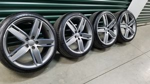 """Audi S3 A3 Original 19"""" Wheels Rims Continental Tires for Sale in Los Angeles, CA"""