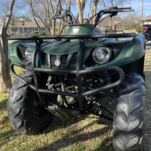 2014 Yamaha Grizzly 350cc Como Nueva Un Solo Propietario Con Título En Mano for Sale in Irving, TX