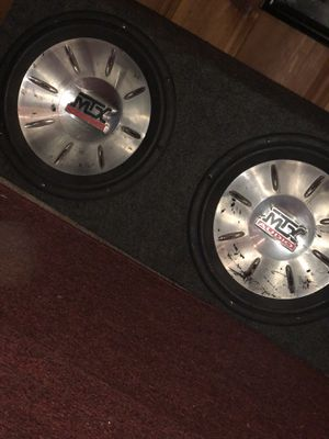 MTX SPEAKERS for Sale in Baltimore, MD