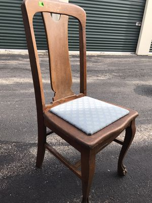 11 antique oak dining chairs for Sale in Concord, MA