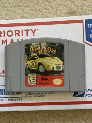 Beetle Adventure Racing Nintendo 64 for Sale in Santee, CA