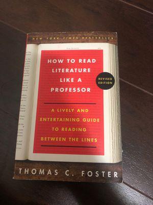 How to read literature like a professor for Sale in Miami, FL