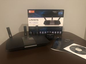 Linksys AC1900 dual band smart wi-fi router for Sale in Stone Ridge, VA