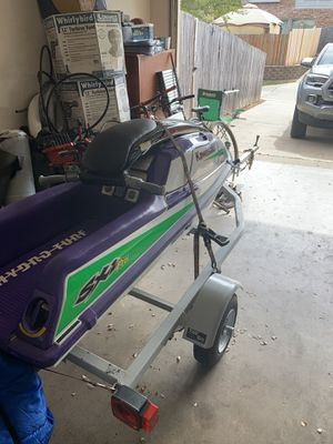 98 Kawasaki 750 sxi pro stand up on trailer for Sale in Flower Mound, TX