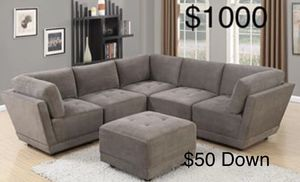 New sectional couch /$50 down / FREE DELIVERY for Sale in Los Angeles, CA