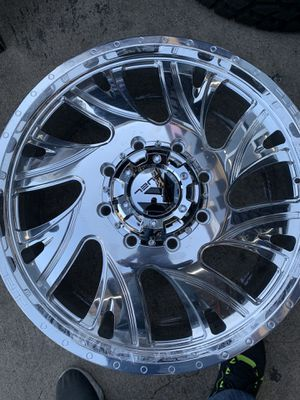"""24"""" fuel forged dually wheels for Sale in Houston, TX"""