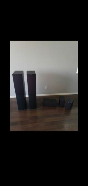Brand new home theather Speaker system by jamo which is owned by Klipsch cost $900 new $420 OBO for Sale in Youngtown, AZ