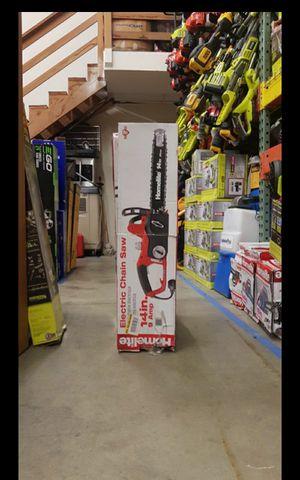 """HOMELITE CORDED 14""""IN CHAINSAW for Sale in San Bernardino, CA"""