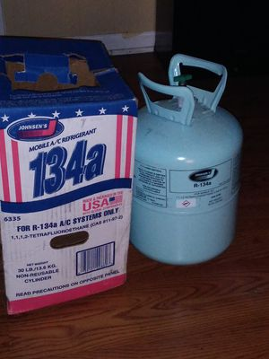 30 lbs refrigerant 134 A for Sale in LAKE CLARKE, FL