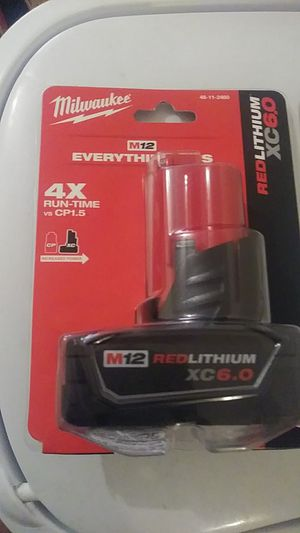 M12 6.0Ah battery. Brand new in package for Sale in Snellville, GA