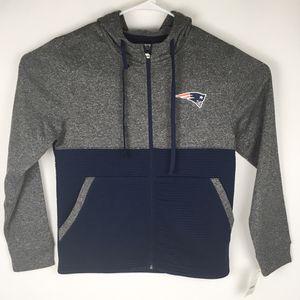New Women's Zip Up Fleece Sweatshirt With Hood NFL New England Patriots Small (Tarpon Springs) for Sale in Palm Harbor, FL