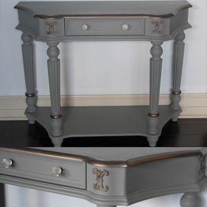 Elegant Gray Console / Sofa Table for Sale in Seattle, WA