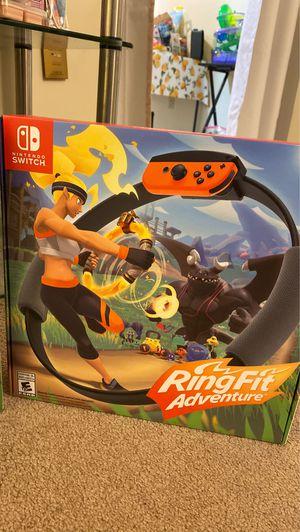 Nintendo RingFit Adventure for Sale in Bangor, ME