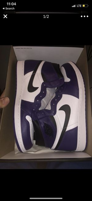 Jordan 1 high og court purple 2.0 size 11.5 for Sale in Phoenix, AZ