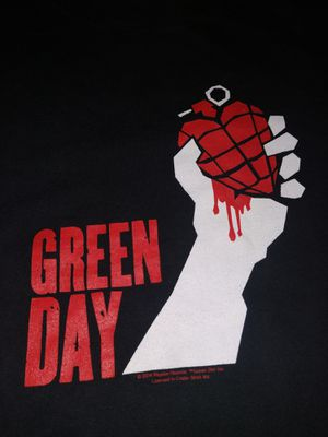 Green Day tour shirt for Sale in Newport News, VA