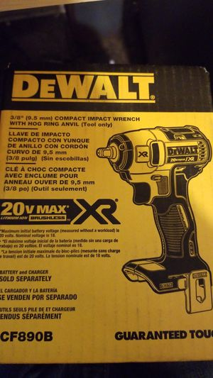 Compact impact wrench with hog ring anvil (tool only) for Sale in San Diego, CA