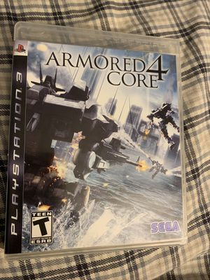 Armored Core 4 PS3 PlayStation Used Teen for Sale in Bellevue, WA