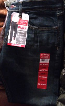 32 x 30 Relaxed Fit Levi Strauss Jeans for Sale in Oklahoma City,  OK