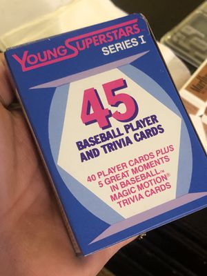 Rare 😱😱!!! 1988 SEALED Baseball player and Trivia Cards !! Includes rare Mark McGuire!! for Sale in Los Angeles, CA