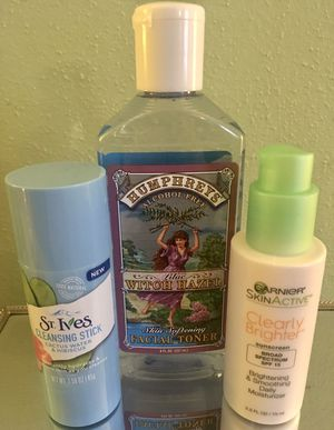 Cleanser, Toner, & Moisturizer for Sale in Hoquiam, WA