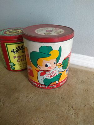 Antique chip tin for Sale in New Port Richey, FL