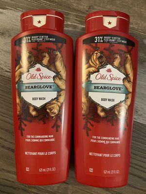 Old spice bearglove body wash $3.50 each for Sale in San Bernardino, CA