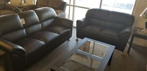 BLACK SOFA AND LOVE SEAT for Sale in North Las Vegas, NV