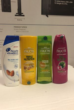 Head and shoulders bundle for Sale in Pembroke Pines, FL