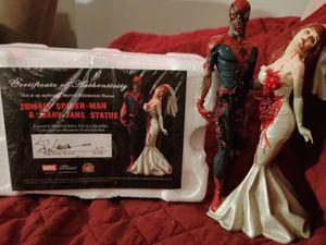 Zombie Spiderman and Mary Jane Statue Marvel Milestones for Sale in San Antonio, TX