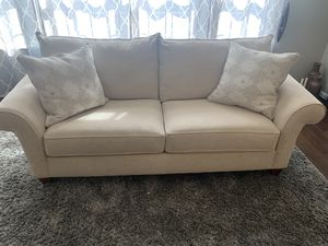 CLASSY! EXCELLENT Condition , Lauren Sofa and matching Chair for Sale in Gambrills, MD