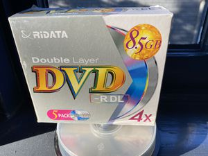 Unused blank DVDs for Sale in Oakland, CA