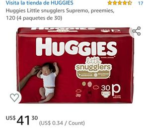 Huggies little snugglers preemies for Sale in Oxnard, CA
