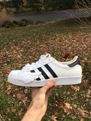 Jeremy Scott x Adidas Superstars for Sale in Lincolnia, VA