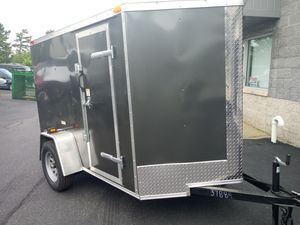5x8 ENCLOSED VNOSE TRAILER BRAND NEW-- MOTORCYCLE ATV MOVING STORAGE QUAD for Sale in Bronx, NY