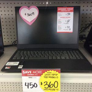 Lenovo Laptop for Sale in North Las Vegas, NV
