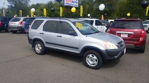 2002 Honda CRV very clean local trade in. We finance if you need it for Sale in Edgewood, WA
