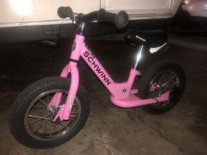"""Schwinn Pink 12"""" Wheels Balance Bike for Sale in Arlington, TX"""