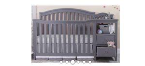 Light Grey crib for Sale in Las Vegas, NV