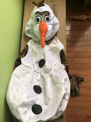Child Frozen Olaf costume for Sale in Woodbridge, VA