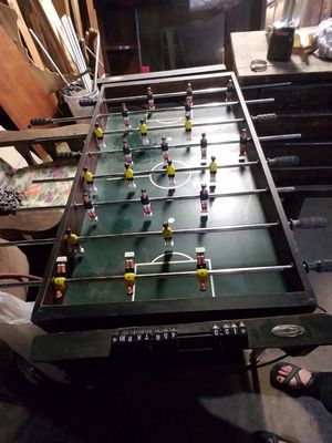 Air hockey and foosball table for Sale in West Point, MS