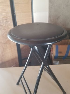 Black bar stool for Sale in Manteca, CA