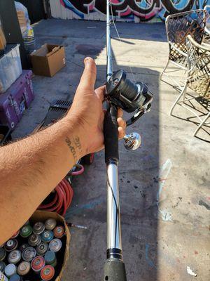 Shimano Torium 14HGA Fishing Reel w/Abu Garcia Vengeance Casting Rod for Sale in Anaheim, CA