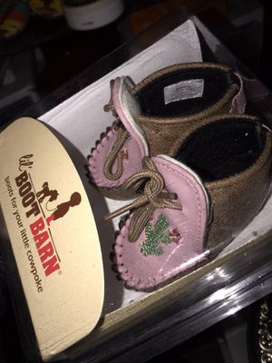 Boot barn baby girl boots for Sale in Perris, CA