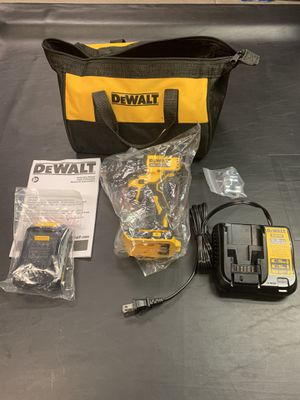 ***NEW*** Dewalt Atomic Drill 20V with battery, charger and bag for Sale in Chula Vista, CA