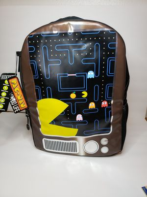 Pac-Man x MOJO Life Backpack 3D 17 Inch School Bag NWT for Sale in San Diego, CA