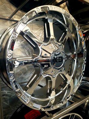XD 838 chrome rims 20x9 wheels for Sale in Tempe, AZ