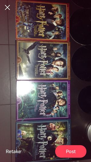 4 Harry Potter Movies Set for Sale in Largo, FL